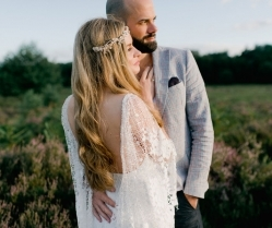 The Most Beautiful Florals & Stunning Grace Loves Lace Bride!