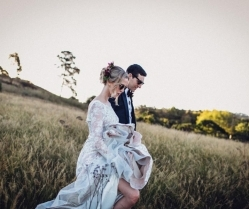 Unique & Decadent Wine & Ruby Red Wedding in South Africa: Holly & Chris