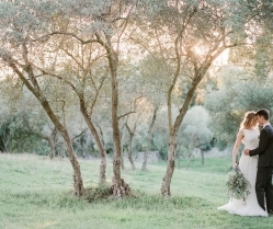 Dreamy, Light-filled Olive Grove Wedding Inspiration in France
