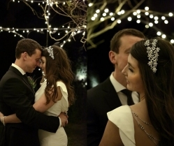 Wonderful Winter Wedding With Rustic Christmas Vibes & Berry Hues