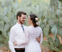 An Understated Boho Chic Wedding With Elegant Jewelled Tones: Carla & Core