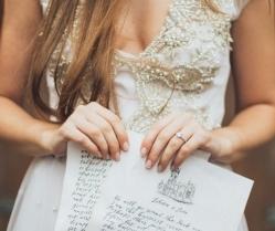 Wonderful White & Soft Gold Wedding Inspiration for Spring