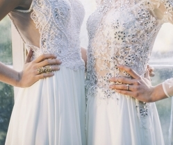 Low Key & Luxe: Bridal Gowns For Cool Girls | Maria Senvo