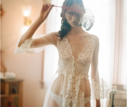 The Ultimate Bridal Lingerie: Heirloom by Claire Pettibone