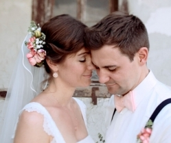 Light in August! Beautifully Crafted Coral & Pink Vintage Wedding Film: Sabine & Stefan