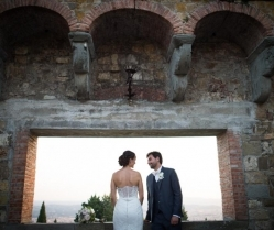 Romantic Lavender & Lilac Wedding in Florence: Melissa & Mohammed