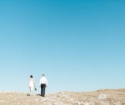 A Rustic, Boho Elopement Wedding in Crete: Jennifer & David