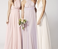 Brand New! Two-birds Tulle Convertible Bridesmaids Dresses: Spring 2015