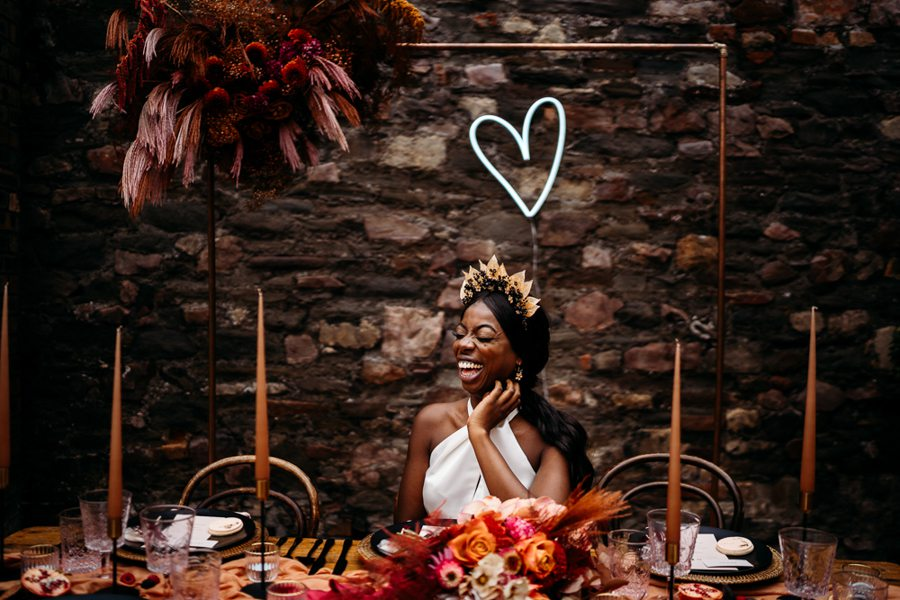 Luxury Bohemian Wedding Inspiration with Caramel, Rust & Raspberry