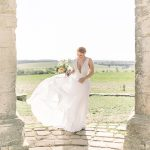 Shades of Wuthering Heights: Boho Bridal Editorial at the Chesterton Windmill