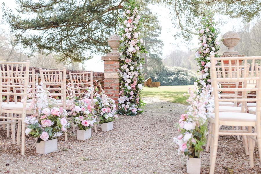 Under The Floral Spell Wedding Décor Inspiration at Wotton House, Surrey